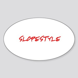 Slopestyle Sticker (Oval)