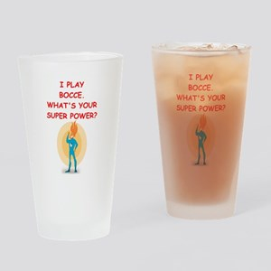 BOCCE Drinking Glass