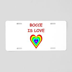 BOCCE2 Aluminum License Plate