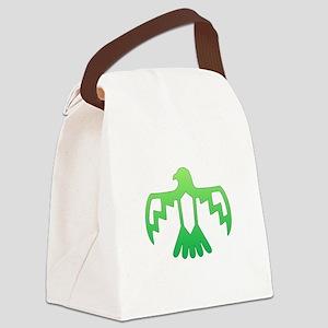 Green Thunderbird Canvas Lunch Bag