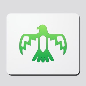 Green Thunderbird Mousepad