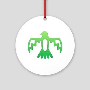 Green Thunderbird Ornament (Round)