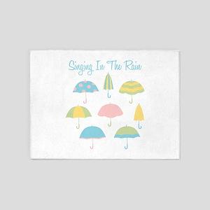Singing In The Rain 5'x7'Area Rug