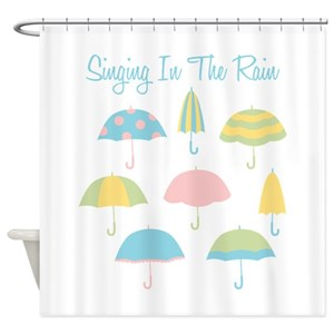 Singing In The Rain Shower Curtains