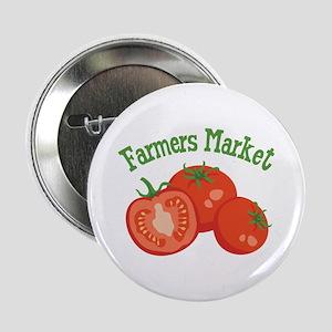 "Farmers Market 2.25"" Button"