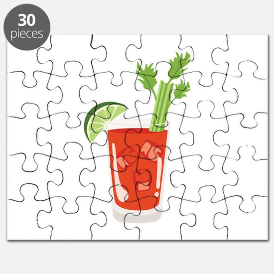 Bloody Mary Drink Puzzle
