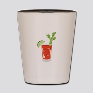 Bloody Mary Drink Shot Glass