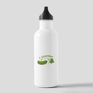 Cucumber Water Bottle