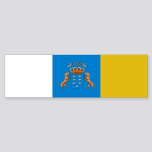 Canary Islands flag Bumper Sticker