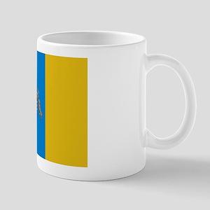 Canary Islands flag Mug