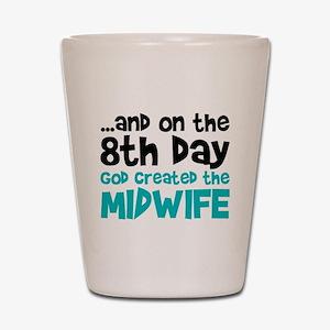 Midwife Creation Shot Glass