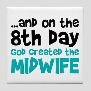 Midwife Creation Tile Coaster