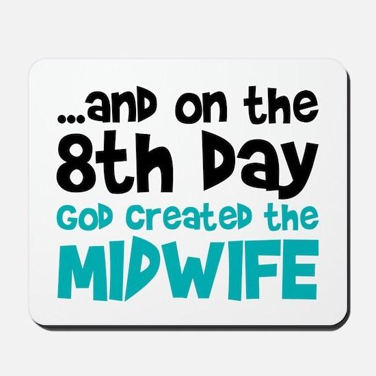 Midwife Creation Mousepad