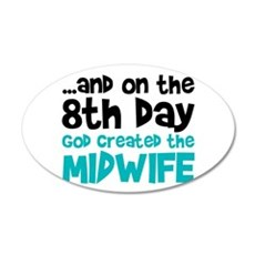 Midwife Creation Wall Decal