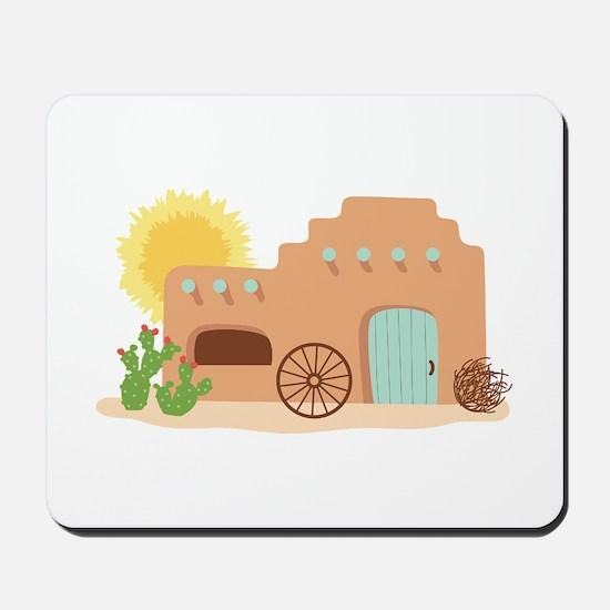 Adobe House Desert Mousepad