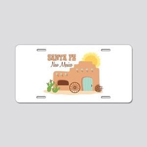 SANTA FE New mesico Aluminum License Plate