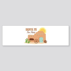 SANTA FE New mesico Bumper Sticker