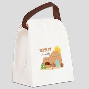 SANTA FE New mesico Canvas Lunch Bag