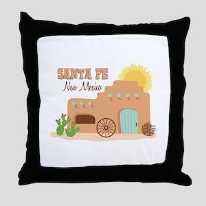 SANTA FE New mesico Throw Pillow