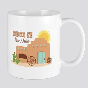 SANTA FE New mesico Mugs