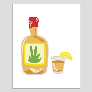 Tequila Bottle Shot Posters