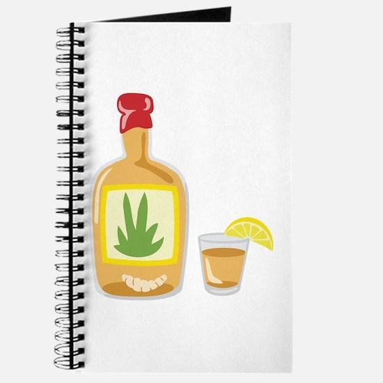 Tequila Bottle Shot Journal