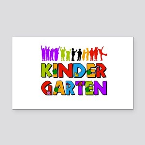 Kindergarten Fun Rectangle Car Magnet