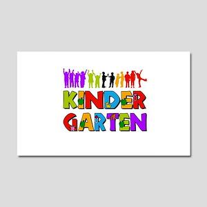 Kindergarten Fun Car Magnet 20 x 12