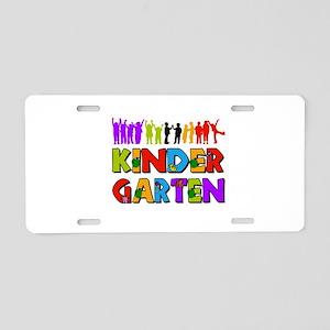 Kindergarten Fun Aluminum License Plate