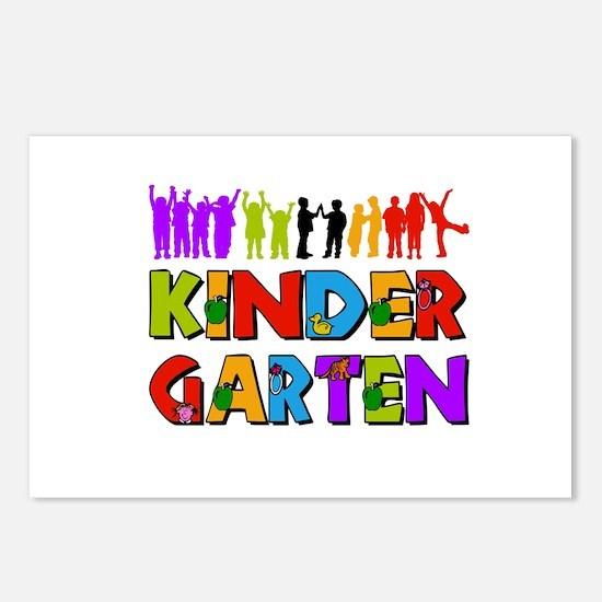 Kindergarten Fun Postcards (Package of 8)