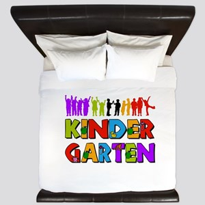 Kindergarten Fun King Duvet