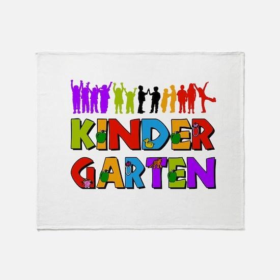 Kindergarten Fun Throw Blanket