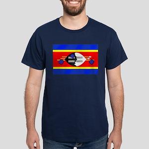 Flag of Swaziland Dark T-Shirt