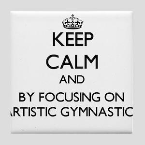 Keep calm by focusing on Artistic Gymnastics Tile