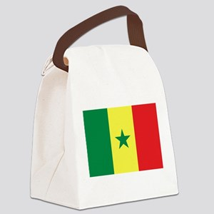 Flag of Senegal Canvas Lunch Bag