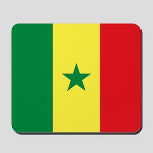Flag of Senegal Mousepad