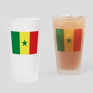 Flag of Senegal Drinking Glass