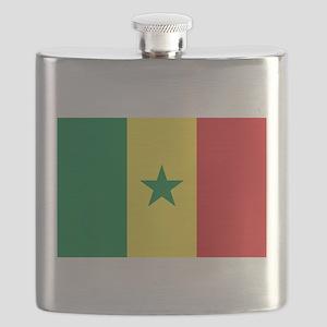 Flag of Senegal Flask