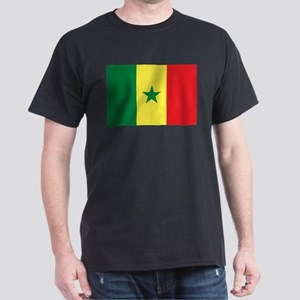 Flag of Senegal Dark T-Shirt