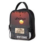 Mr Tripp book cover Neoprene Lunch Bag