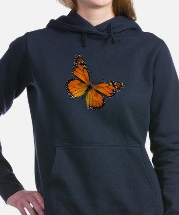Monarch Butterfly Hooded Sweatshirt