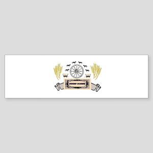 wagon wheel of glory Bumper Sticker