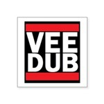 Vee Dub Square Sticker 3