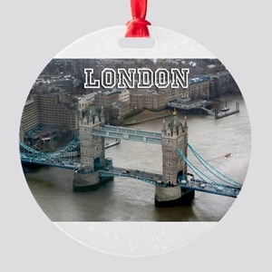 Tower of London Pro Photo Round Ornament