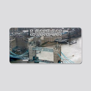 Tower of London Pro Photo Aluminum License Plate