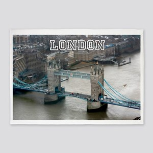 Tower of London Pro Photo 5'x7'Area Rug