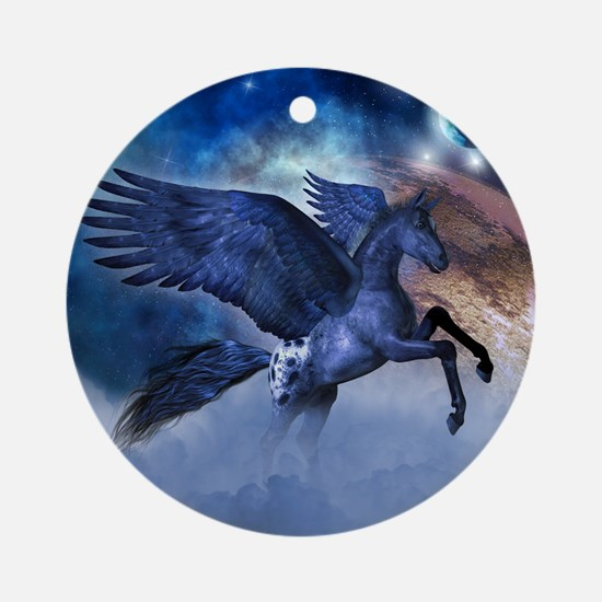 Little Pegasus Ornament (Round)