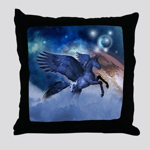 Little Pegasus Throw Pillow
