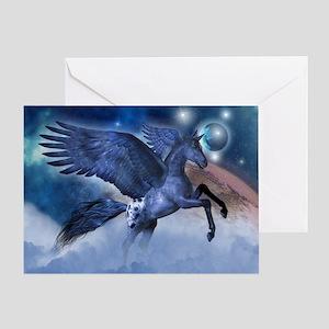 Little Pegasus Greeting Cards
