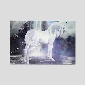 Silver Unicorn Magnets